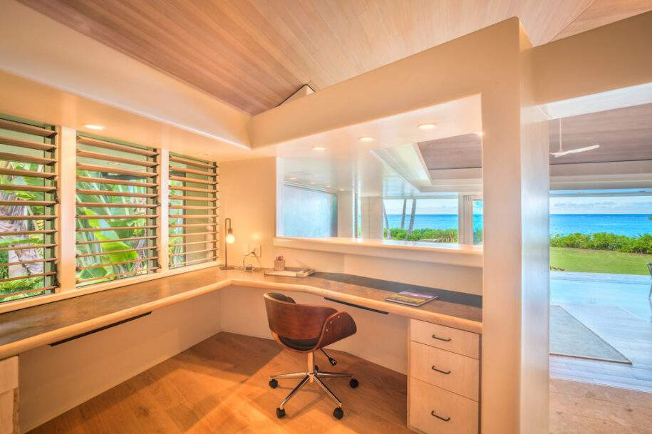 9 estate office overlooking living and view